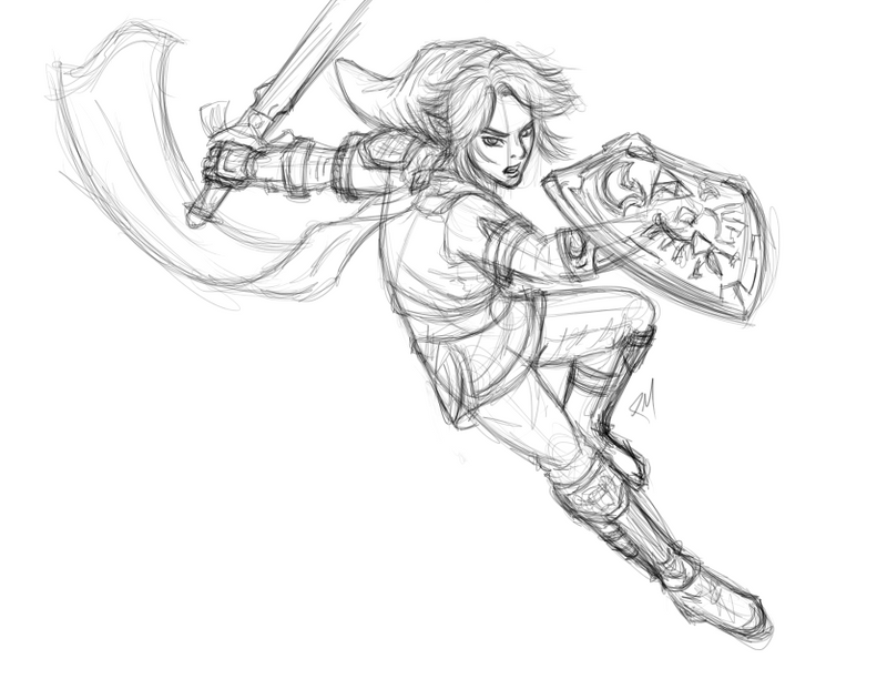 Link Doodle by Pencil-Mage