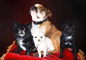 Dogs-portrait by lei-la-la
