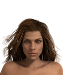 Marina Glaivas face details in 3D (WIP)