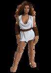 Marina white tunic (WIP)