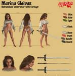 Marina Glaivas - Batranoban underwear by Kervala