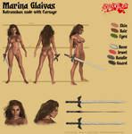Marina Glaivas - Batranoban nude by Kervala