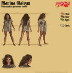 Marina Glaivas - Batranoban prisoner outfit by Kervala