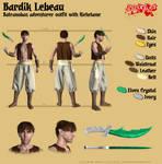 Bardik Lebeau - Batranoban adventurer outfit