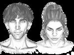 Bardik and Marina portraits