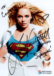 Laura Vandervoort sign by Kervala