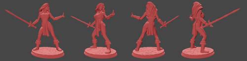 Marina Figurine - first version by Kervala