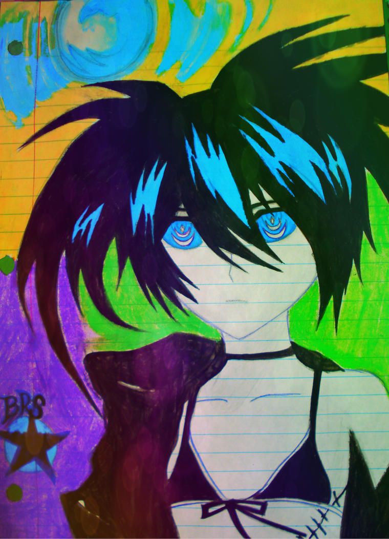 Black Rock Shooter by Chaos-Angel142