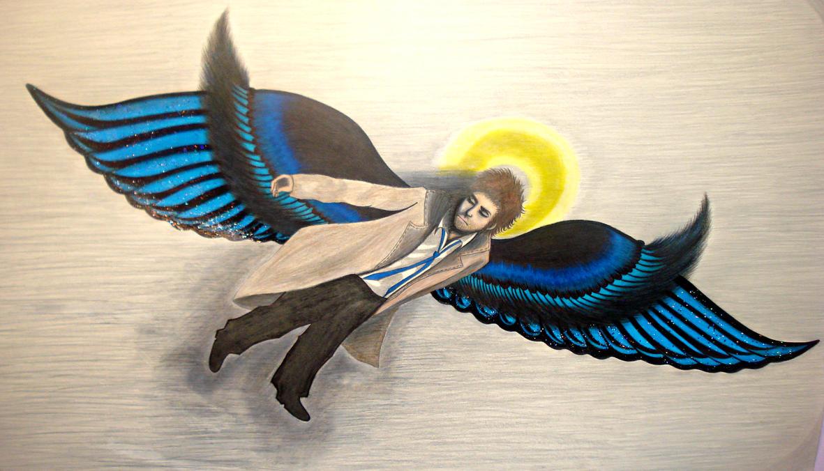 Sleeping Snow Angel by Chaos-Angel142