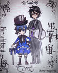 Ciel and Sebastian by Chaos-Angel142