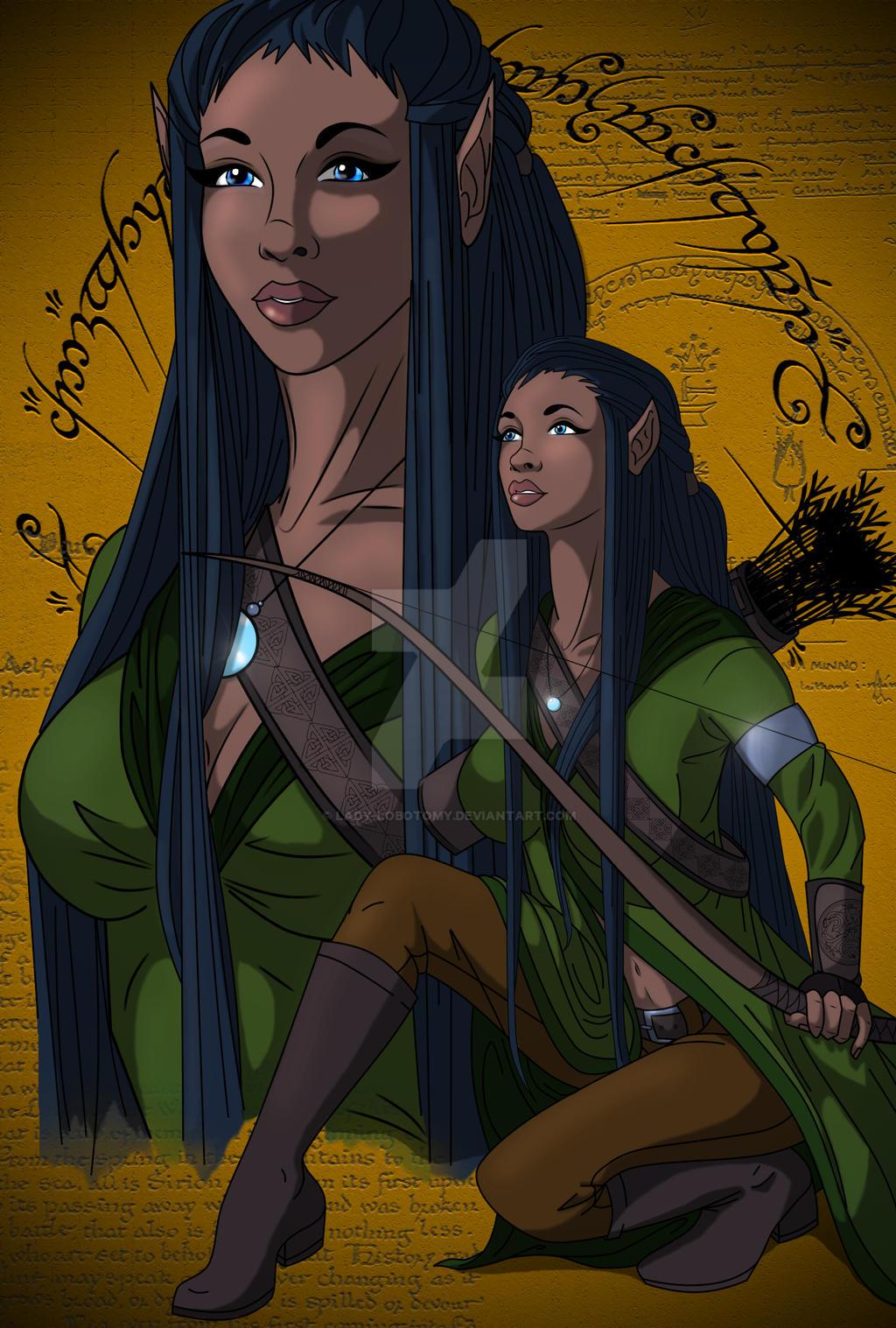 Maethoriel by Lady-Lobotomy