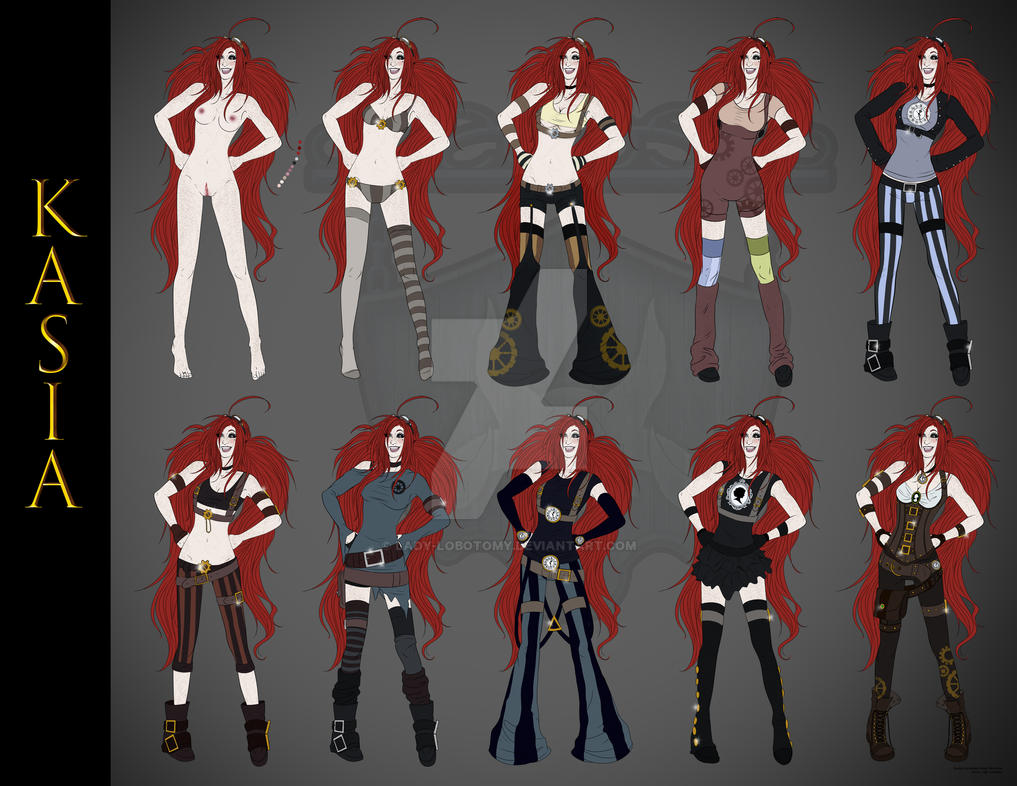 Kasia - Clothing Reference by Lady-Lobotomy