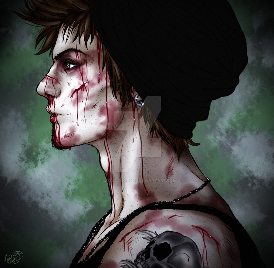 Always a Fighter by Lady-Lobotomy