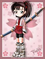Rinka and Tetsunosuke by Rinka-Chan