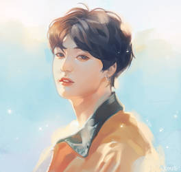 jungkook by Xoue