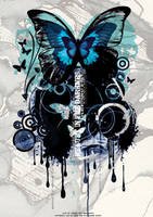 Butterfly poster by alex8898
