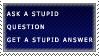 Stupid Stamp by gethsemane-butler