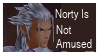 Not Amused Stamp by gethsemane-butler