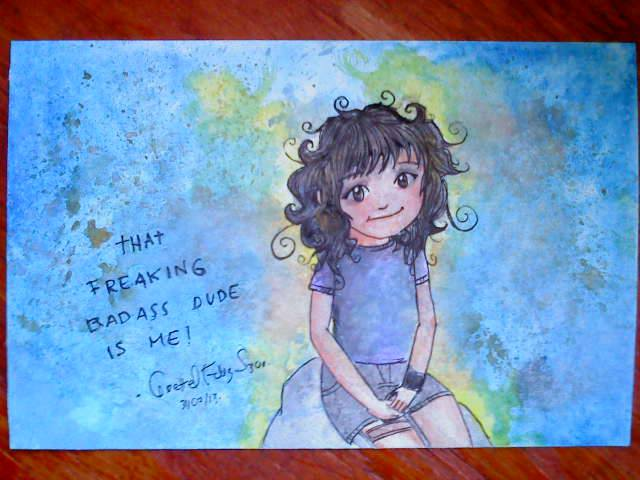 My first watercolor drawing by lorellee on deviantart for My first watercolor painting
