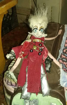 Vash Keychain Doll - Front 2