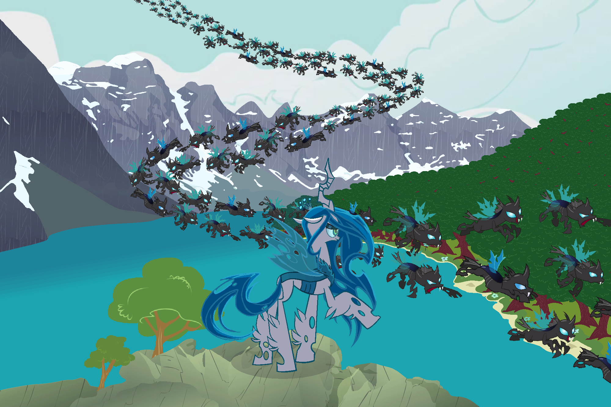 BronyCan Contest Submission ~Rocky Mountians~ by drewq123