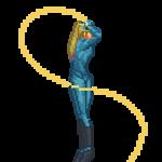 samus twirl saber whip(new Sprites) by birdman91