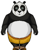 Po (Kung Fu Panda) by birdman91