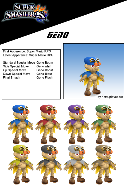 Geno (possible DLC) by birdman91