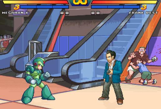 Frank vs Megaman (project titan)