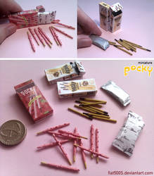 Miniature: Pocky sticks