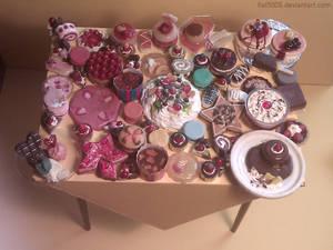 Handmade miniatures: Desserts
