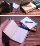 Miniature: Ring binder folder