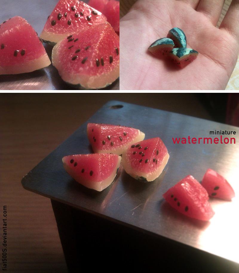 Miniature: Watermelon by fiat500S