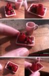Miniature: Summer pudding