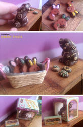 Miniature: Easter treats