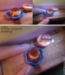 Miniature: Creme caramel pudding