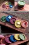 Miniature: Round plates