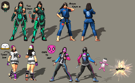 Updated Sprite collection by ben187