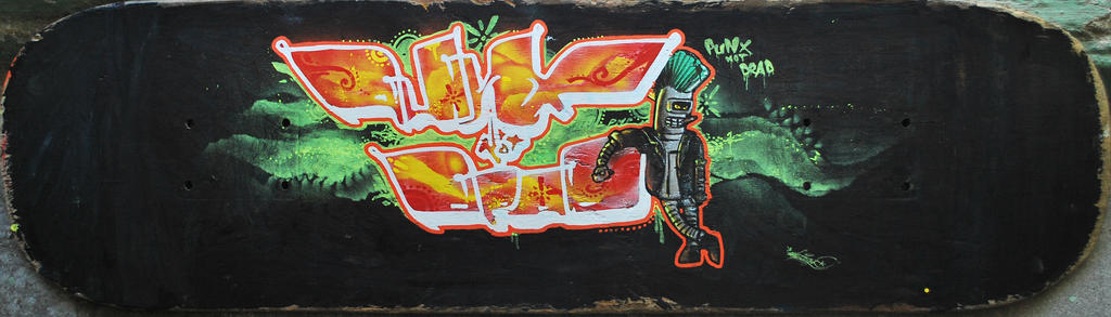 punx not dead by shkicaz