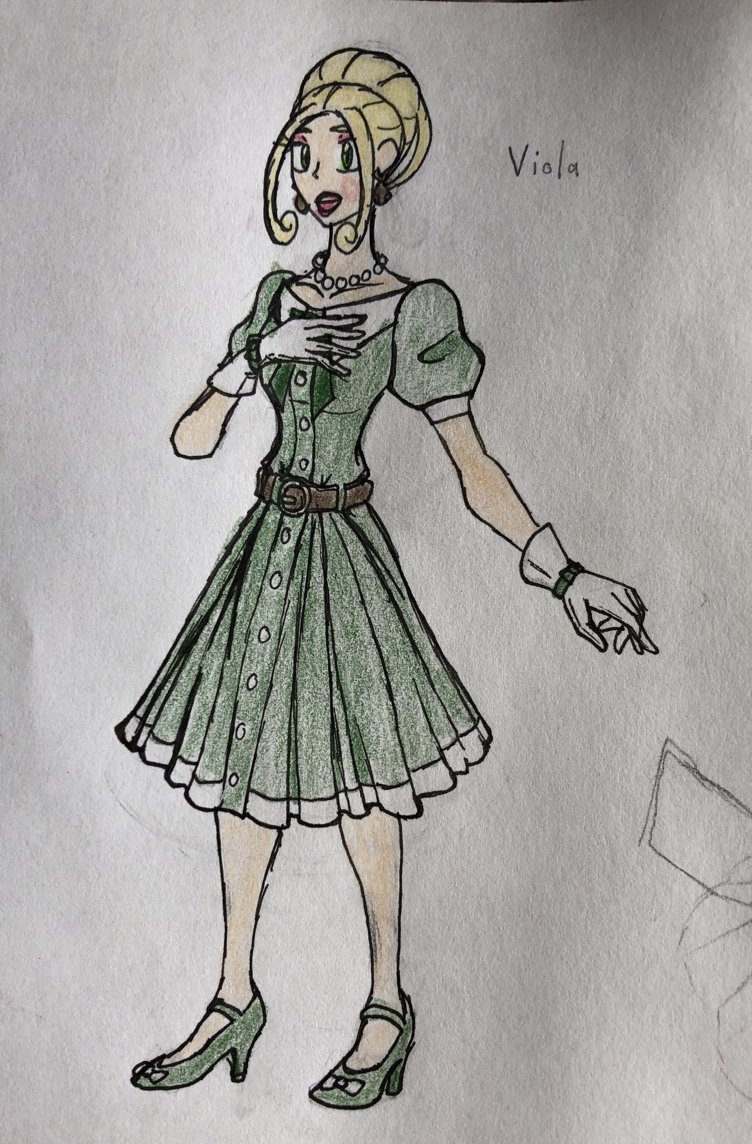Viola, Picture-Perfect Fleur Fashionista