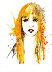Lady Gaga by Katie-Woodger