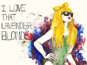 I love that Lavender Blonde... by Katie-Woodger