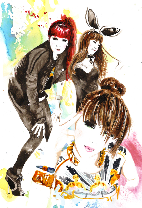Park Bom of 2NE1 by Katie-Woodger