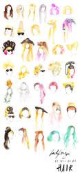Free as my hair UPDATE 1 by Katie-Woodger