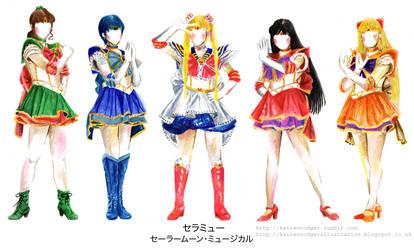 Sera Myu- Sailor Moon musical- Inner Senshi