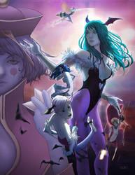 The Women of Darkstalkers by WScottForbes