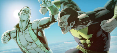 Namor VS Black Adam