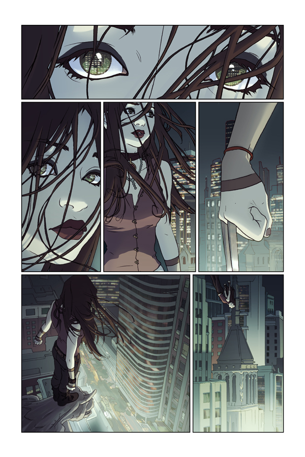 X-23 Page by WScottForbes