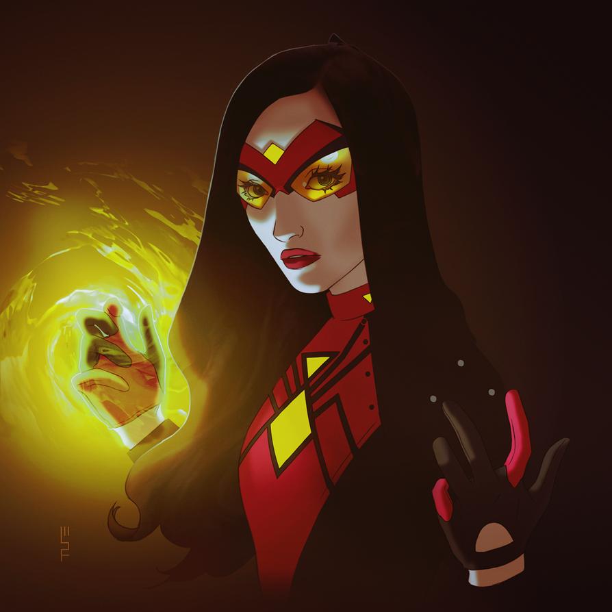 SPIDER-WOMAN by WScottForbes