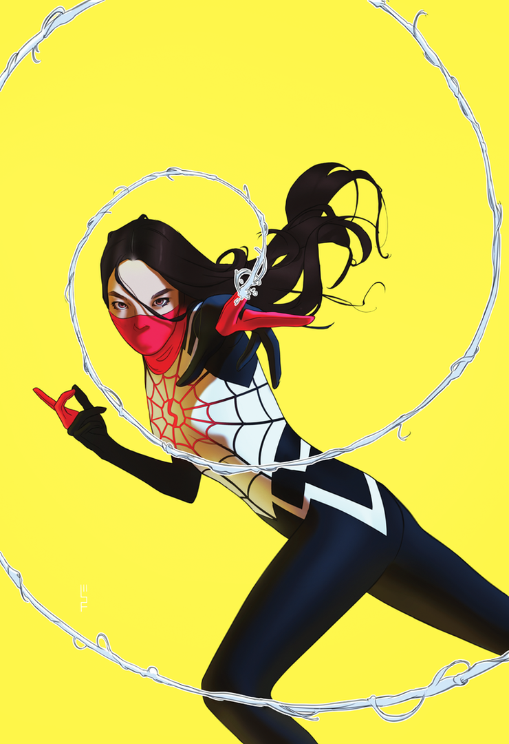 SILK Variant Cover by WScottForbes